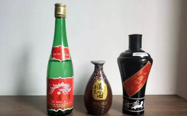 三款西凤大众酒:绿瓶西凤、墨瓶西凤、西凤酒原浆酒对比品鉴!